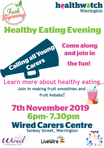 Healthy Eating Young Carers